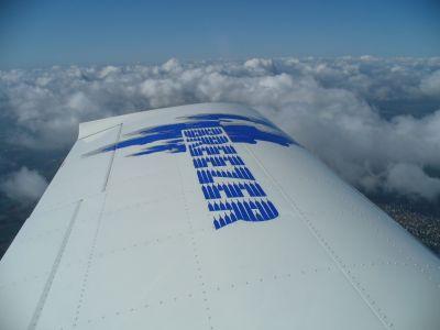 über den Wolken im Breezer