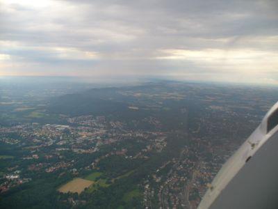 Teutoburger Wald Richtung Westen